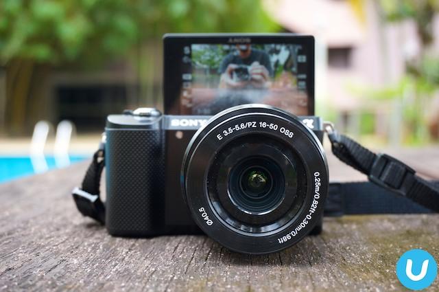 sony alpha a500 digital camera