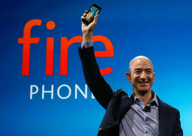 bezos amazon fire phone