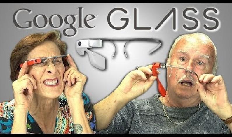 Elderly Google Glass Funny