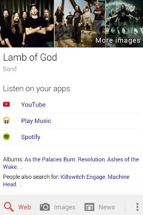 lamb of god Google search