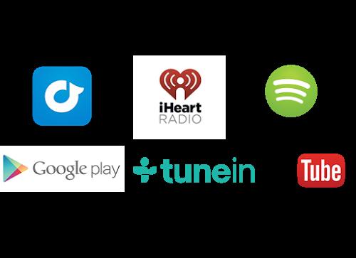 music service logos