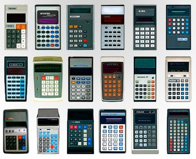 old calculator 0