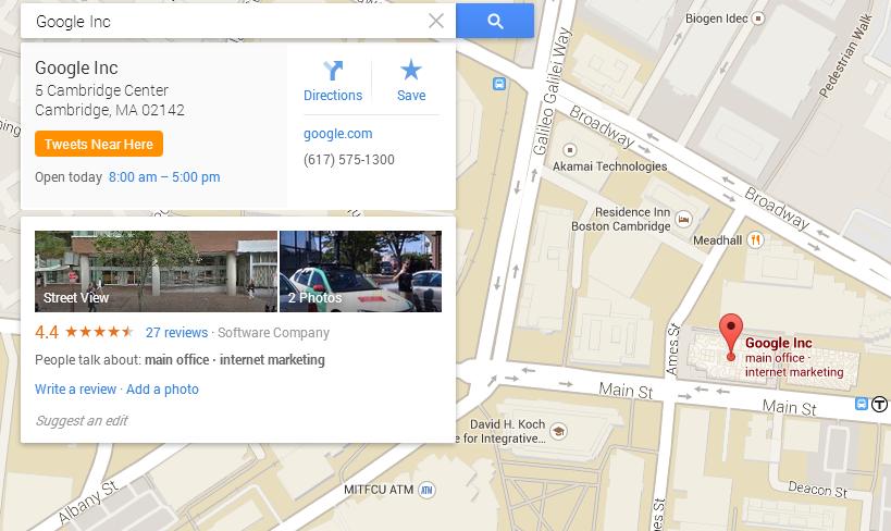 Google Cambridge Office