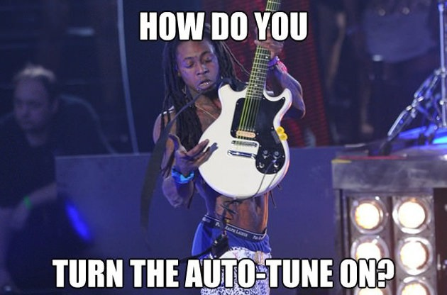 Lil Wayne Auto Tune