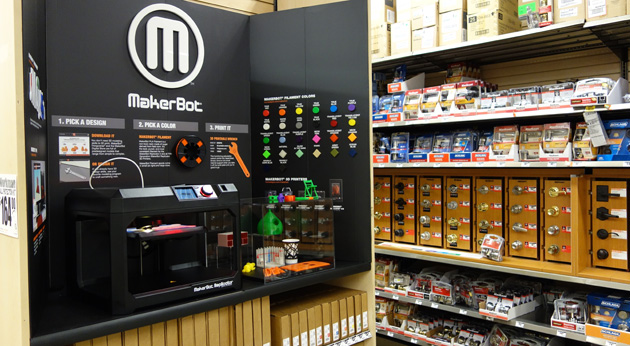 MakerBot 3D Printer Home Depot