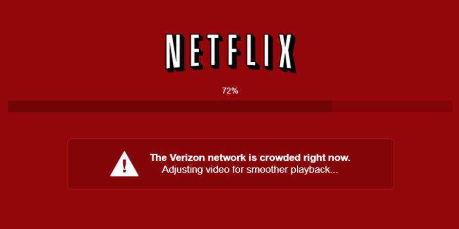 Netflix Verizon Wars