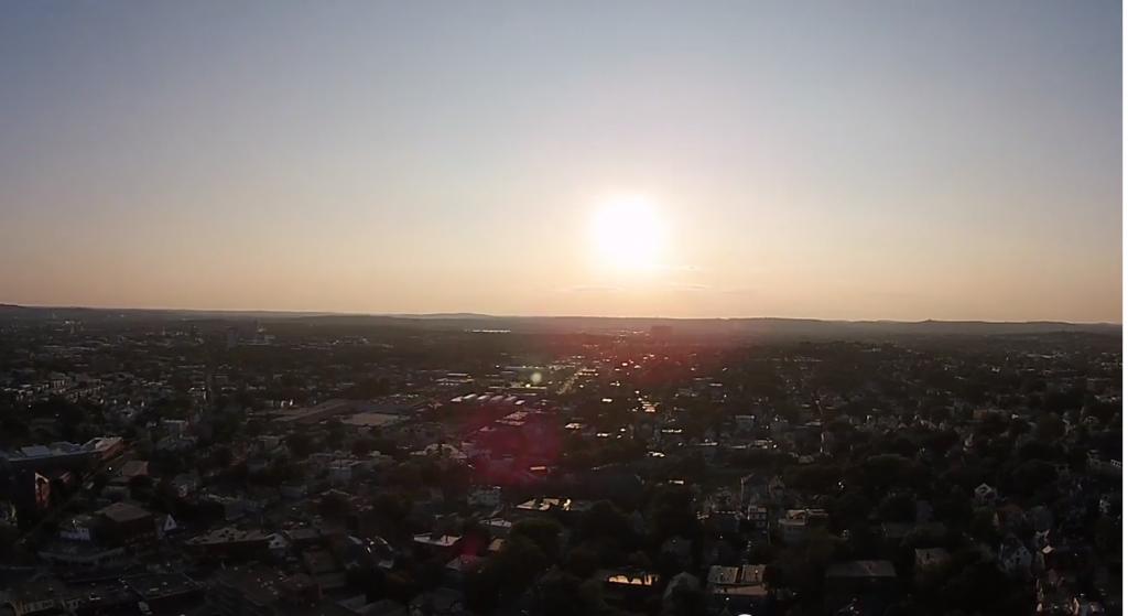 Drone in the Sun