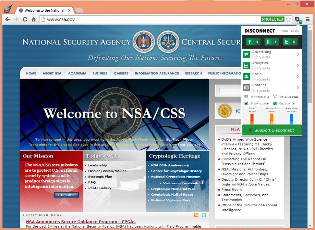 Aviator NSA Web Browser