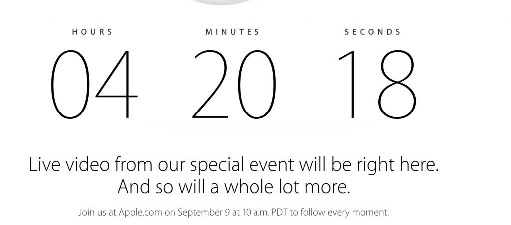 Apple's Live Event