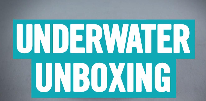 Underwater Unboxing