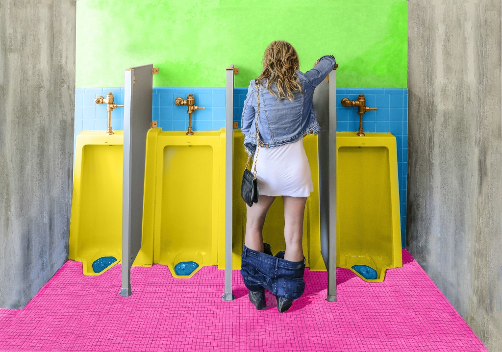 Ladies: A standup Urinal for you