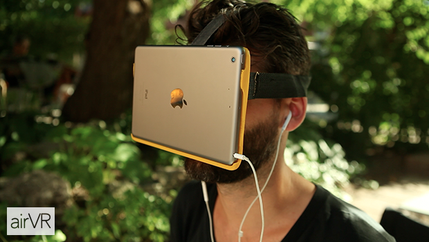 AirVR - Virtual Reality with your iPad or iphone