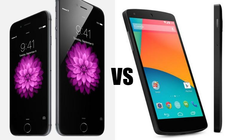 The apple and nexus war rages on