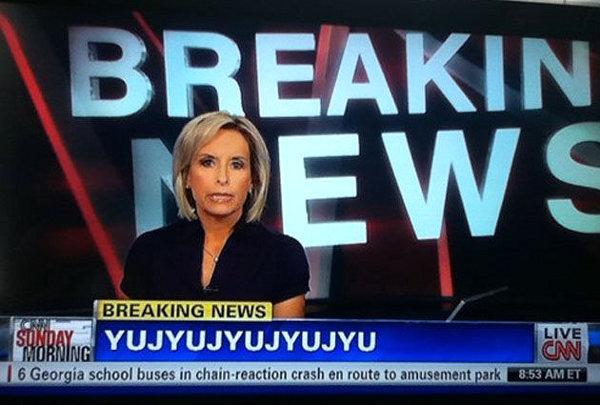 CNN Breaking News Fail