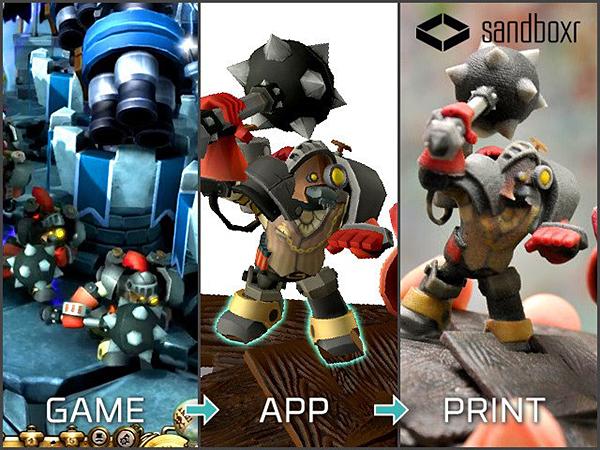 Game-app-print - The magic of 3D Printing