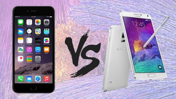 iPhone 6 vs. Galaxy Note 4
