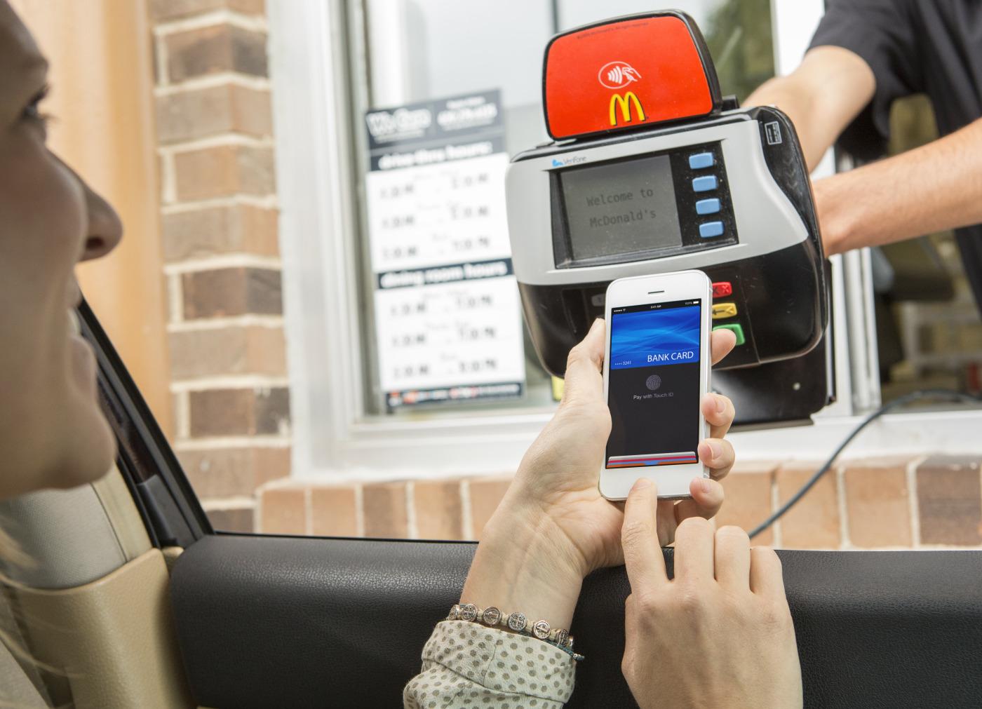 McDonalds Drive Thru Apple Pay