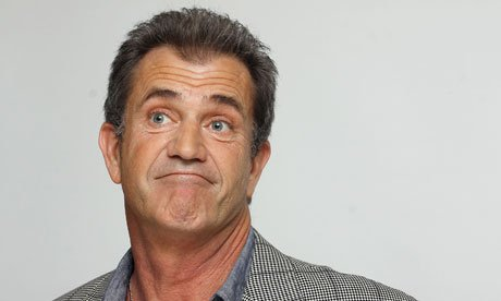 Mel Gibson is just confused