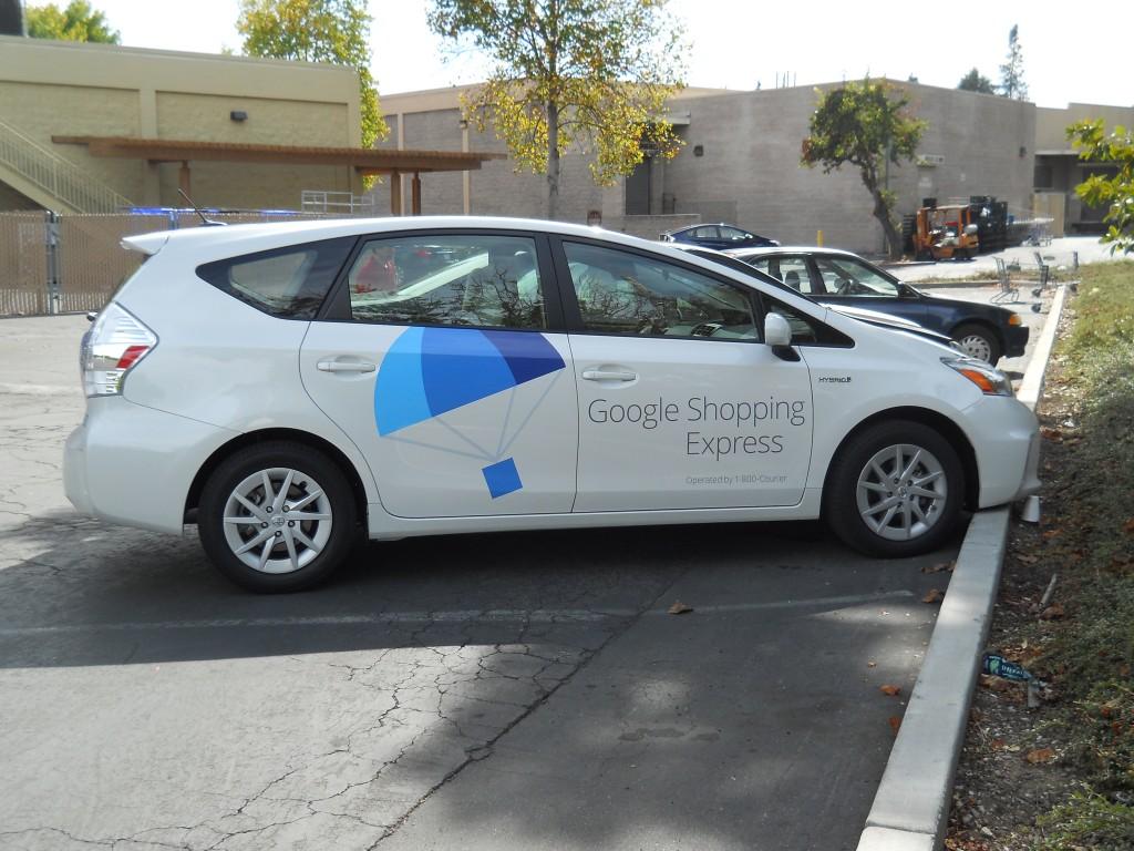 google shopping express car