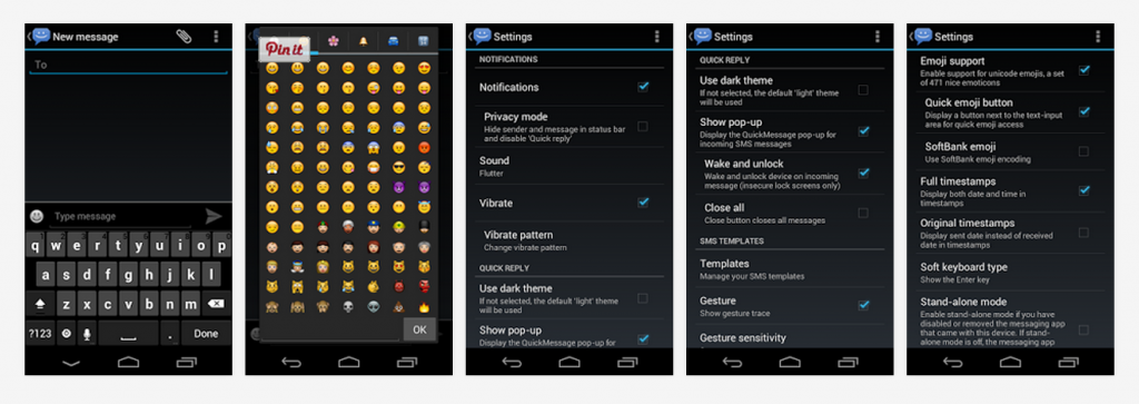 8sms Android messaging app