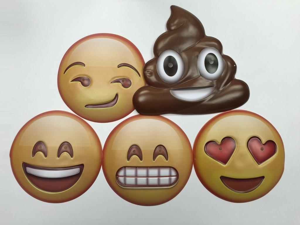 Emoji Masks for $5 bucks!