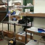 Google Shopping Express packing station