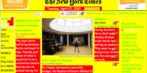 The Geocities-izer turns your favorite websites into a Geocities page