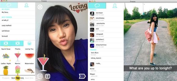 Snapchat on a Mac