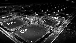 dusty laptop