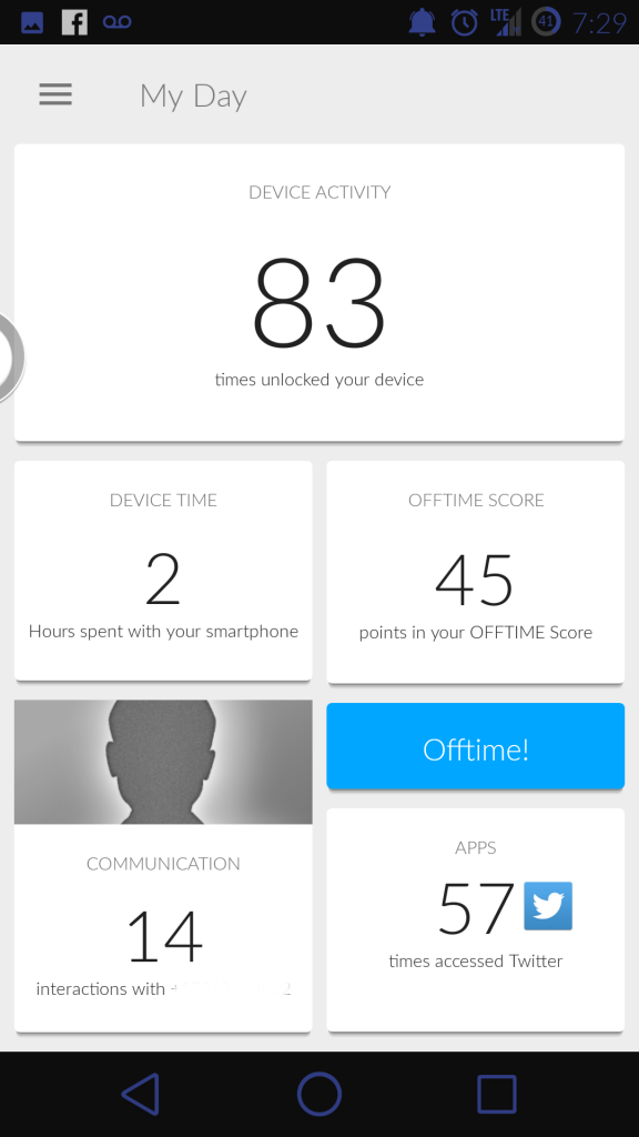 Off Time Screenshot