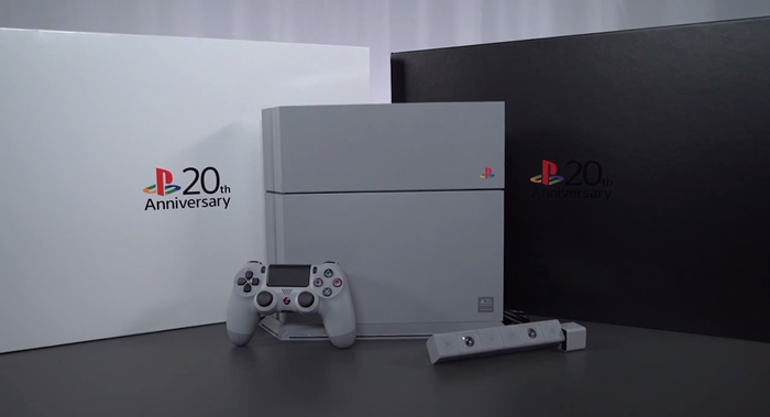 20th Anniversary PS4