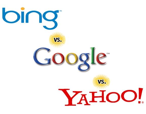Bing Google Yahoo