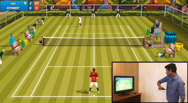 Chromecast Motion Tennis
