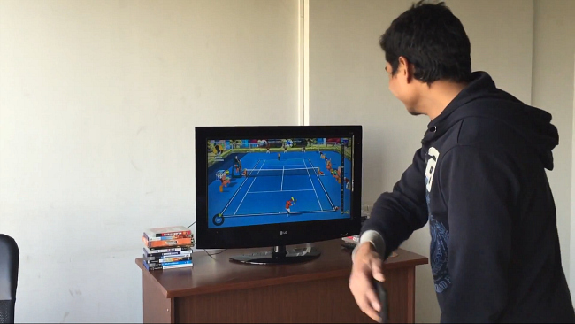 Motion Tennis Android Chromecast