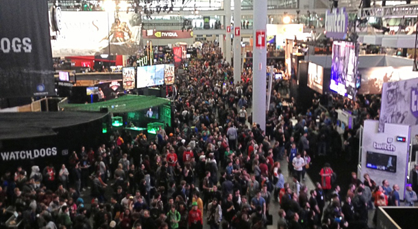 Pax East Crowded
