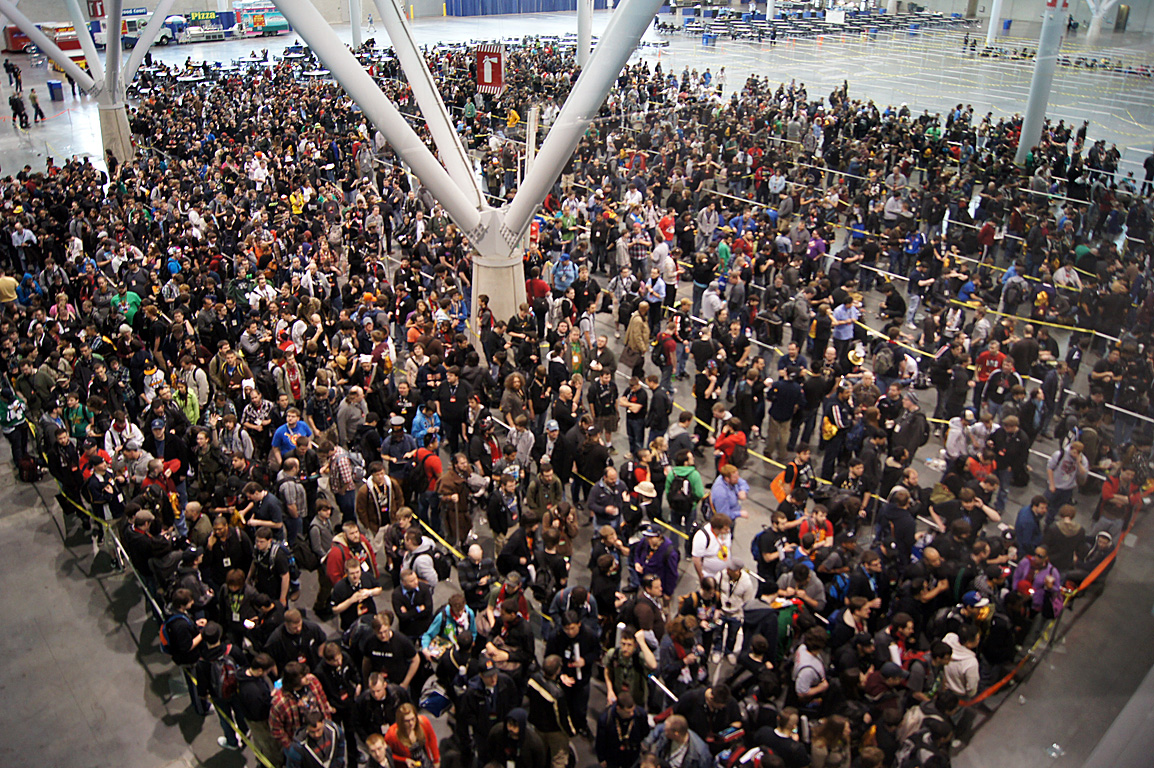 Pax East is too crowded