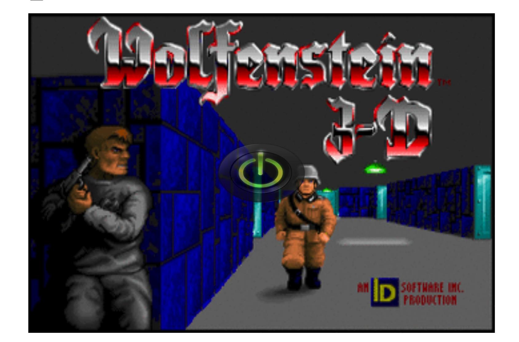 Wolfenstein 3D played on Twitter