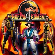 Mortal Kombat 4 Logo