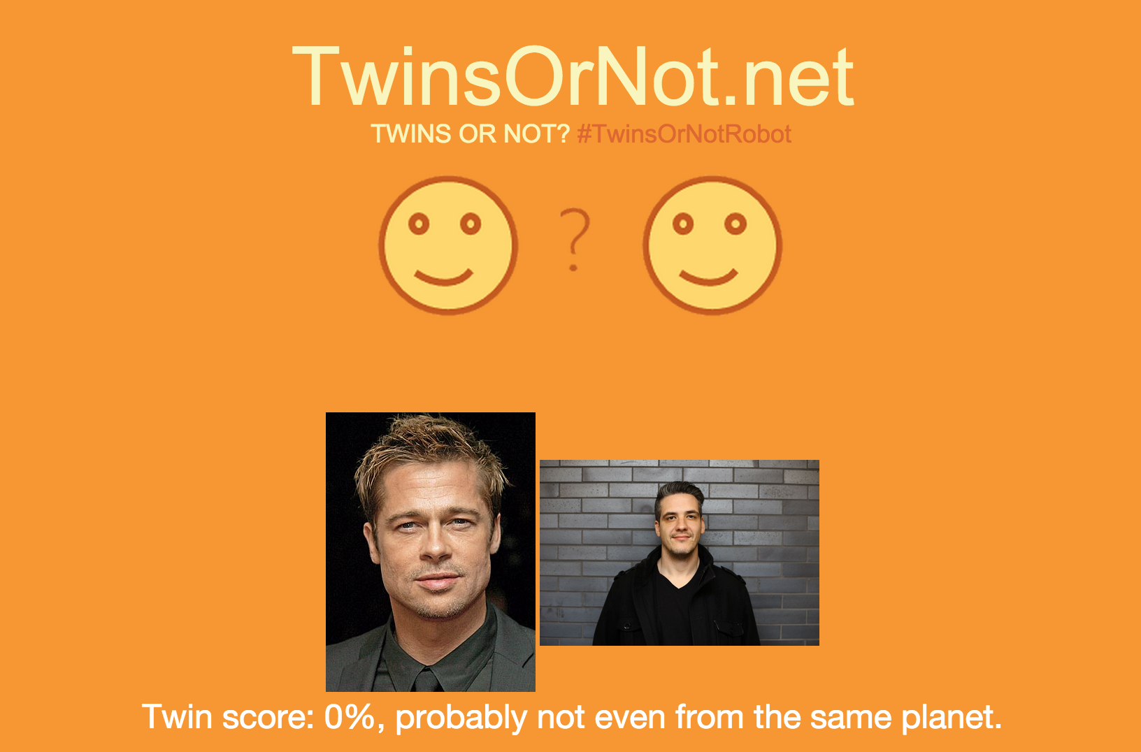 Twins or not