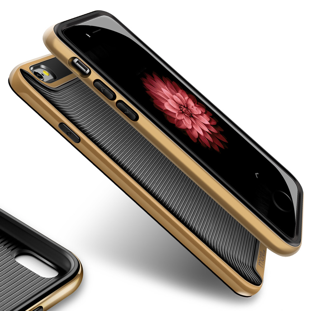 More® Duo Hybrid Series for iPhone 6 / iPhone 6S - Champagne Gold
