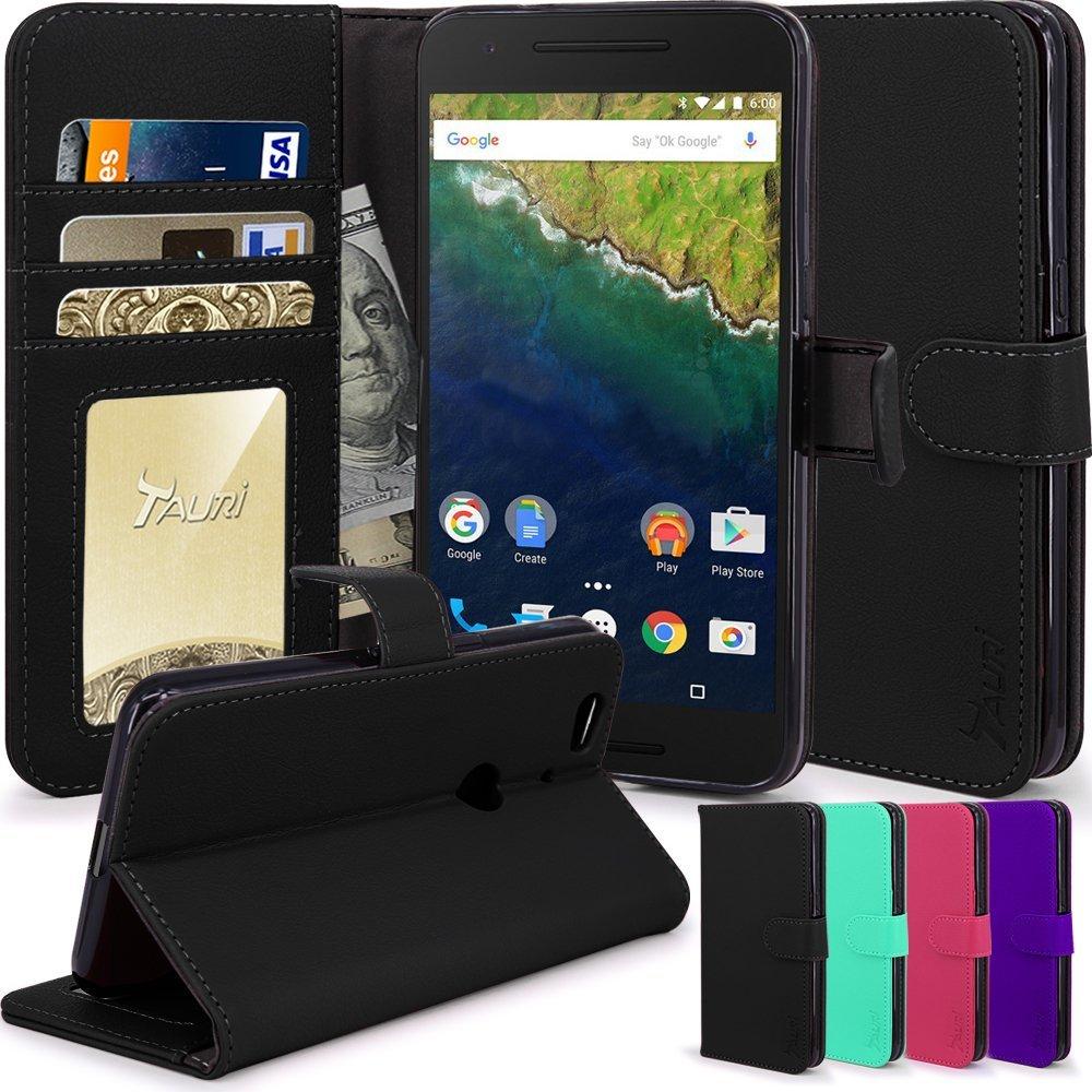 Nexus 6P Case, Tauri Luxury Wallet...