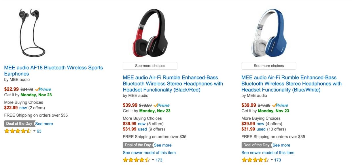Headphones Deal Amazon