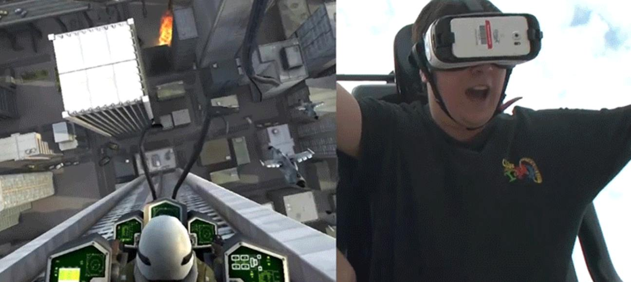 Sig Flags VR Rollercoaster