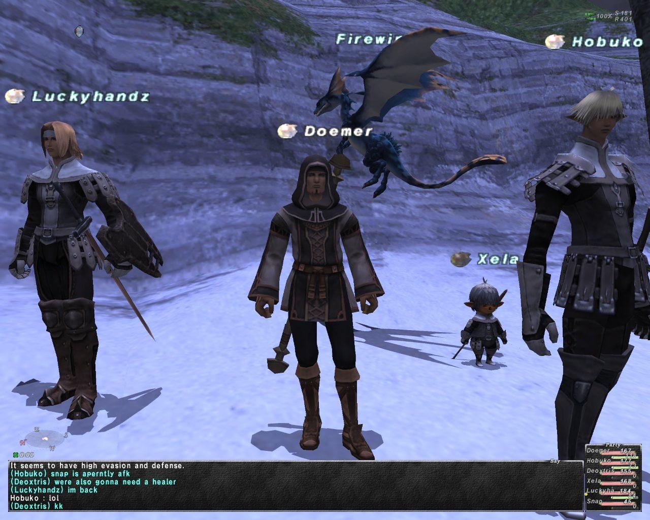Final Fantasy XI in action. Picture courtesy of flickr user Attila Malarik.