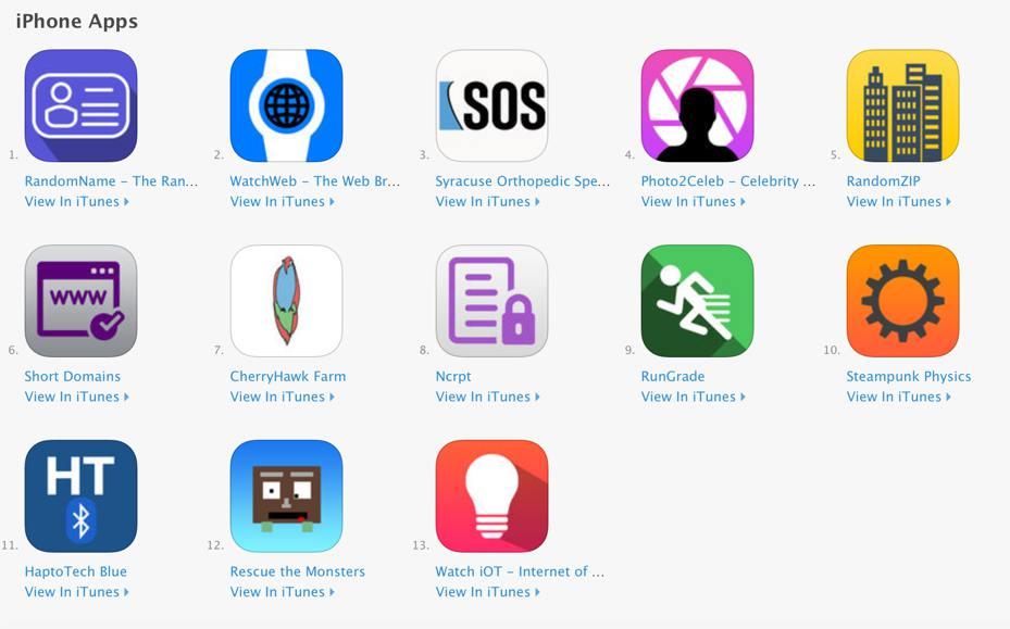 Alex Wulff apps