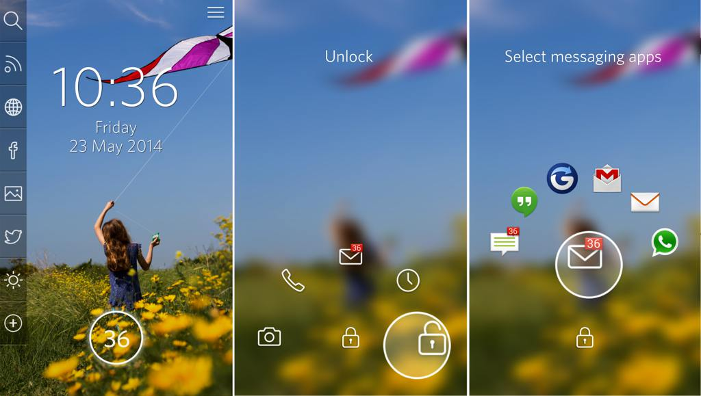 Start Android controls smartphone