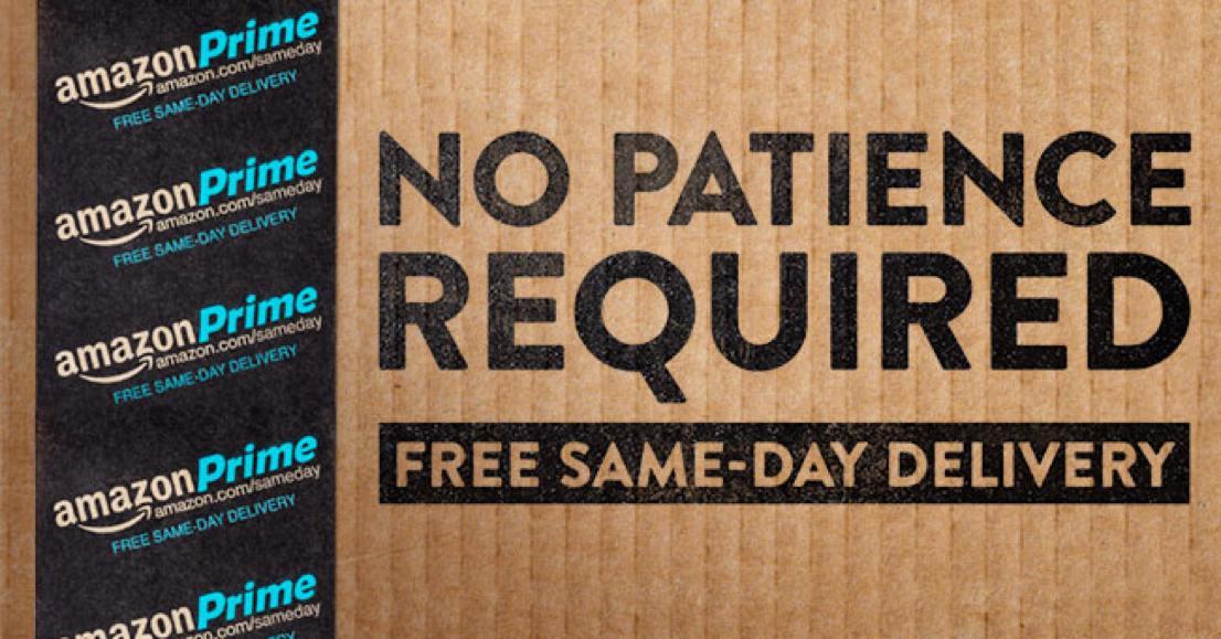 Amazon Prime Same Day Delivery