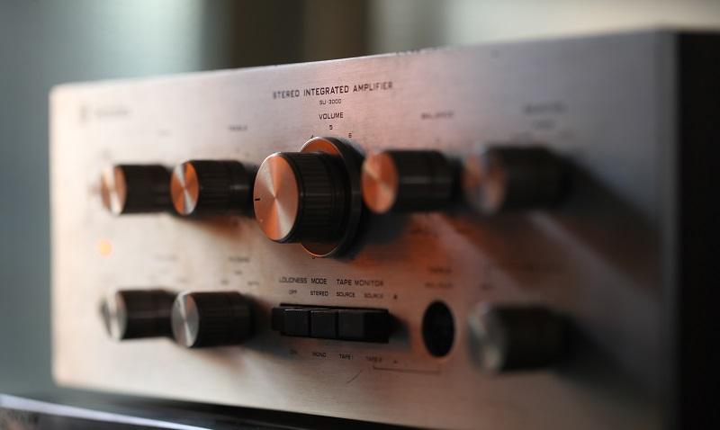 Technics amplifier