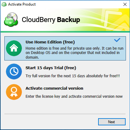 cloudberry 3