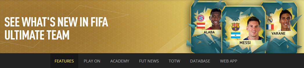 fifa ultimate team app